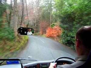 John driving!