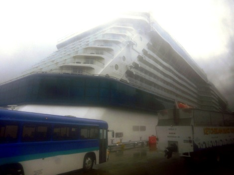 Celebrity Solstice in Ketchikan