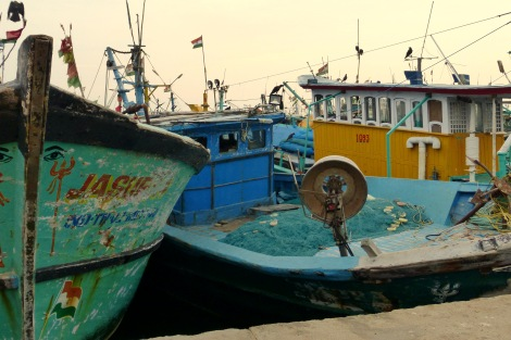 Kasimedu Fishing Village, Mamallapuram