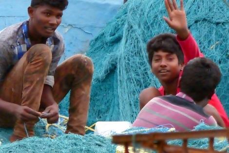 Kasimedu Fishing Harbour, Royapuram